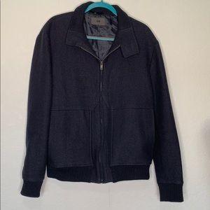 H&M wool blend bomber style coat